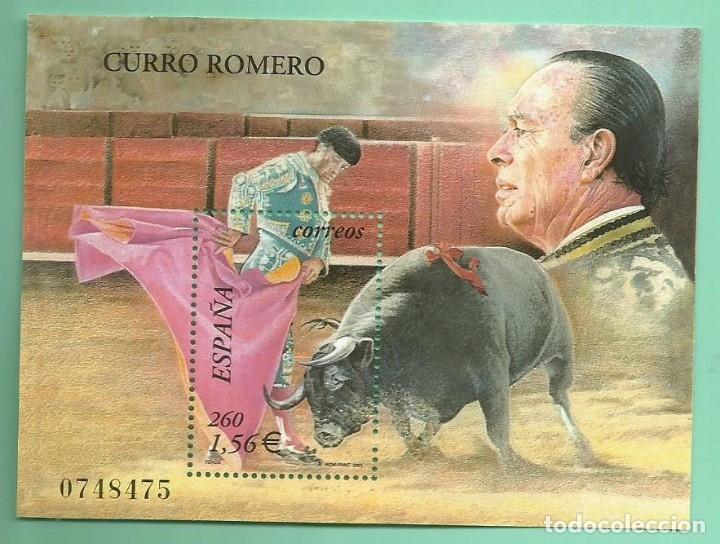 HB 2001. CURRO ROMERO. SELLO DE 1,56 EUROS, 30% DESCUENTO (Sellos - España - Juan Carlos I - Desde 2.000 - Nuevos)