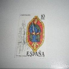 Sellos: ESPAÑA - REY BÍBLICO, CATEDRAL DE LEON , NUEVO. Lote 194525837