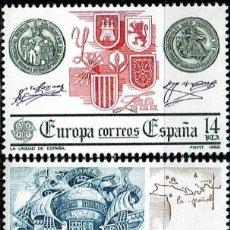 Sellos: ESPAÑA 1982 - EDIFIL 2657/2658 (**). Lote 194564253