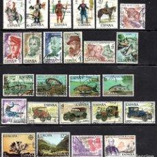 Sellos: SERIES COMPLETAS USADAS DE ESPAÑA - AÑO 1977 (LOTE 3). Lote 194588661