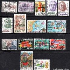 Sellos: SERIES COMPLETAS USADAS DE ESPAÑA - AÑO 1981 (LOTE 2). Lote 194588728
