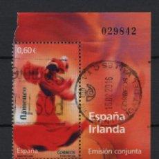 Sellos: TV_001/ ESPAÑA USADOS 2008, BAILES POPULARES. Lote 194622648