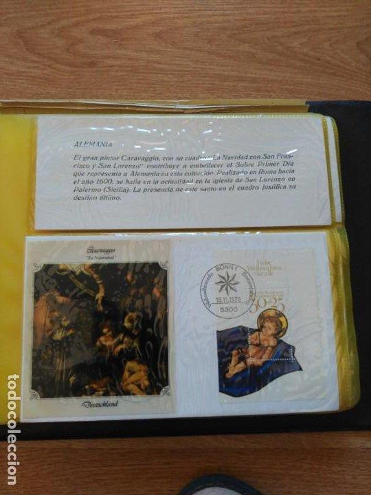 ÁLBUM SOBRES DE NAVIDAD 1978 (Sellos - España - Juan Carlos I - Desde 1.975 a 1.985 - Cartas)