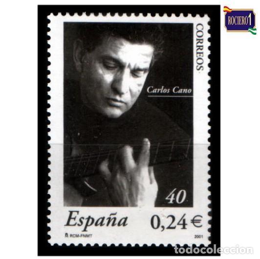 ESPAÑA 2001. EDIFIL 3841. CARLOS CANO. NUEVO** MNH (Sellos - España - Juan Carlos I - Desde 2.000 - Nuevos)
