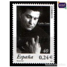 Sellos: ESPAÑA 2001. EDIFIL 3841. CARLOS CANO. NUEVO** MNH. Lote 194716761