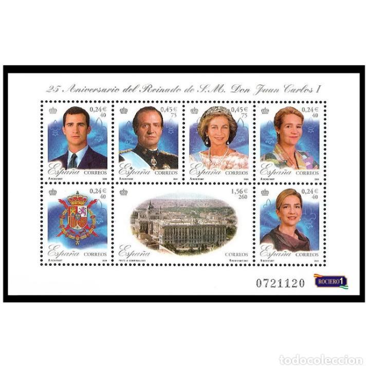 ESPAÑA 2001. EDIFIL 3856. REINADO S.M. DON JUAN CARLOS I. NUEVO** MNH (Sellos - España - Juan Carlos I - Desde 2.000 - Nuevos)