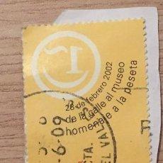 Sellos: 2 SELLOS USADOS AÑO 2002 EDIFIL 3883 Y 3952. Lote 194736468