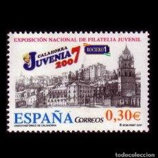 Sellos: ESPAÑA 2007. EDIFIL 4329. JUVENIA 2007, CALAHORRA. NUEVO** MNH. Lote 194740513