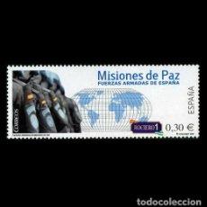 Sellos: ESPAÑA 2007. EDIFIL 4343. FUERZAS ARMADAS EN MISIONES DE PAZ. NUEVO** MNH. Lote 194740670
