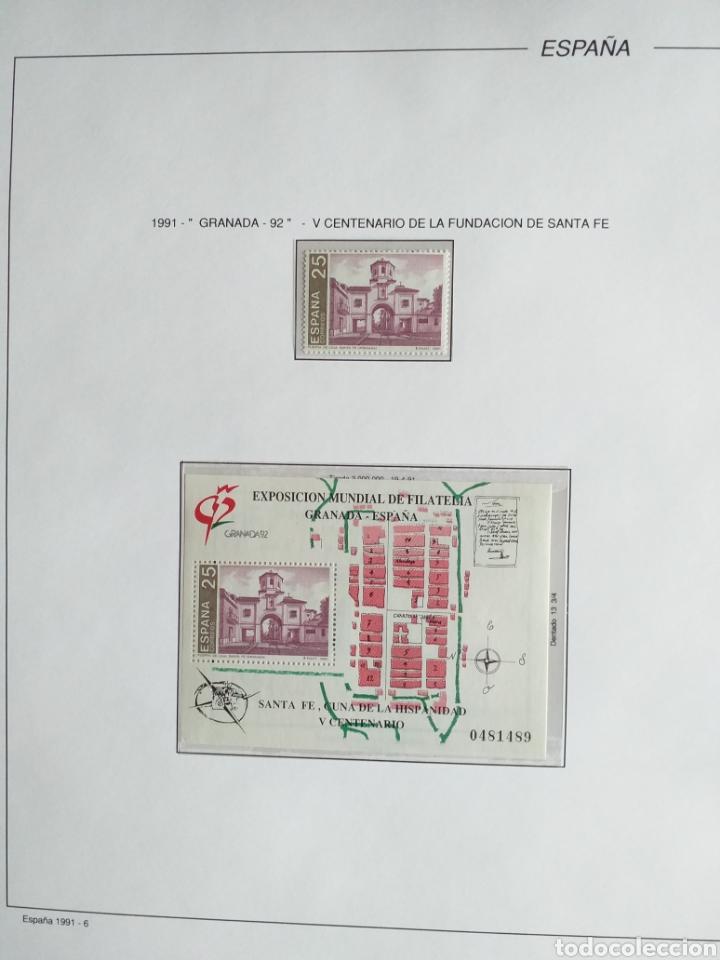 Sellos: SELLOS NUEVOS ESPAÑA AÑO 1991 COMPLETO + POSTALES + AEROGRAMAS (SIN FIJA SELLOS) - Foto 7 - 194768047