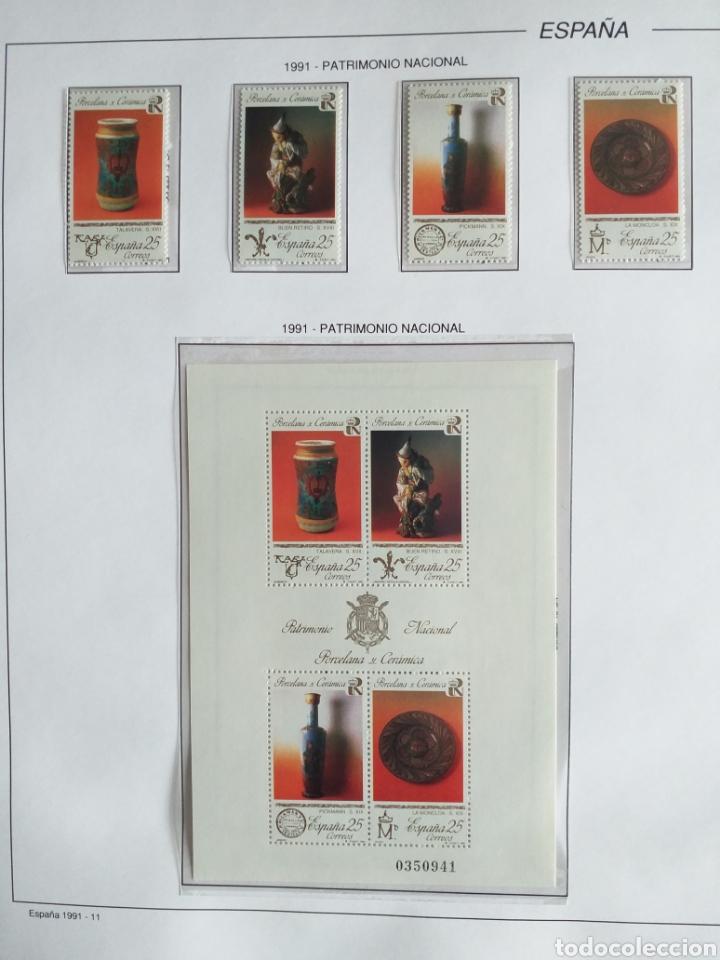 Sellos: SELLOS NUEVOS ESPAÑA AÑO 1991 COMPLETO + POSTALES + AEROGRAMAS (SIN FIJA SELLOS) - Foto 12 - 194768047