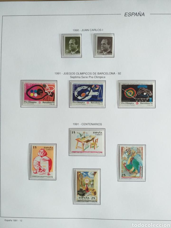 Sellos: SELLOS NUEVOS ESPAÑA AÑO 1991 COMPLETO + POSTALES + AEROGRAMAS (SIN FIJA SELLOS) - Foto 13 - 194768047