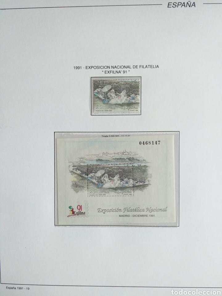 Sellos: SELLOS NUEVOS ESPAÑA AÑO 1991 COMPLETO + POSTALES + AEROGRAMAS (SIN FIJA SELLOS) - Foto 20 - 194768047