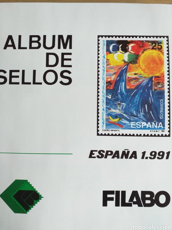 SELLOS NUEVOS ESPAÑA AÑO 1991 COMPLETO + POSTALES + AEROGRAMAS (SIN FIJA SELLOS) (Sellos - España - Juan Carlos I - Desde 1.986 a 1.999 - Nuevos)