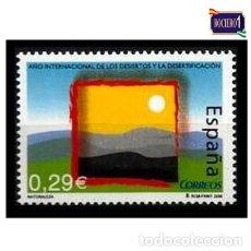 Sellos: ESPAÑA 2006. EDIFIL 4222. AÑO INTERNACIONAL DE LOS DESIERTOS Y DESERTIFICACIÓN. NUEVO** MNH. Lote 194859070
