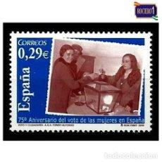 Sellos: ESPAÑA 2006. EDIFIL 4223.VOTO DE LAS MUJERES EN ESPAÑA. NUEVO** MNH. Lote 194859185