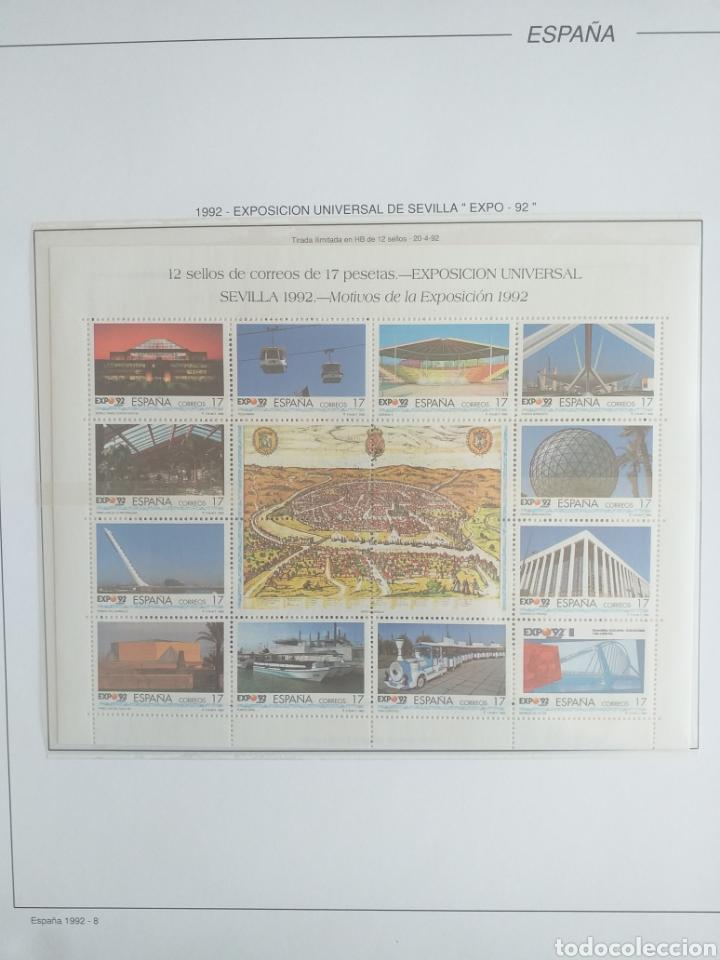 Sellos: SELLOS NUEVOS ESPAÑA AÑO 1992 COMPLETO + POSTALES + AEROGRAMAS (SIN FIJA SELLOS) - Foto 9 - 194859620