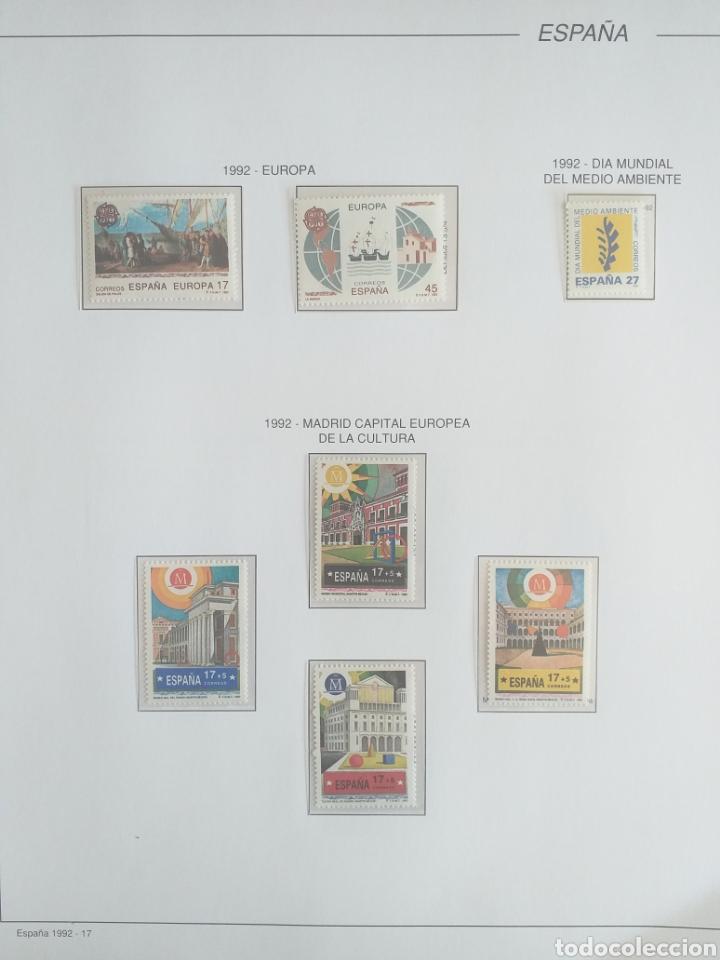 Sellos: SELLOS NUEVOS ESPAÑA AÑO 1992 COMPLETO + POSTALES + AEROGRAMAS (SIN FIJA SELLOS) - Foto 17 - 194859620