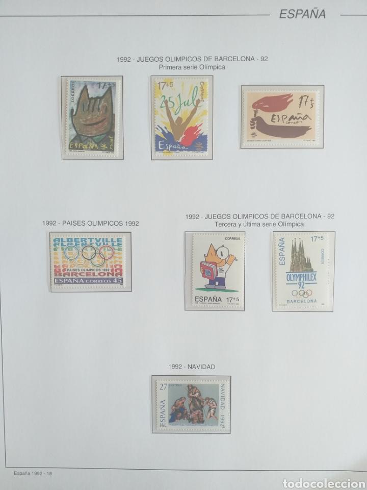Sellos: SELLOS NUEVOS ESPAÑA AÑO 1992 COMPLETO + POSTALES + AEROGRAMAS (SIN FIJA SELLOS) - Foto 18 - 194859620