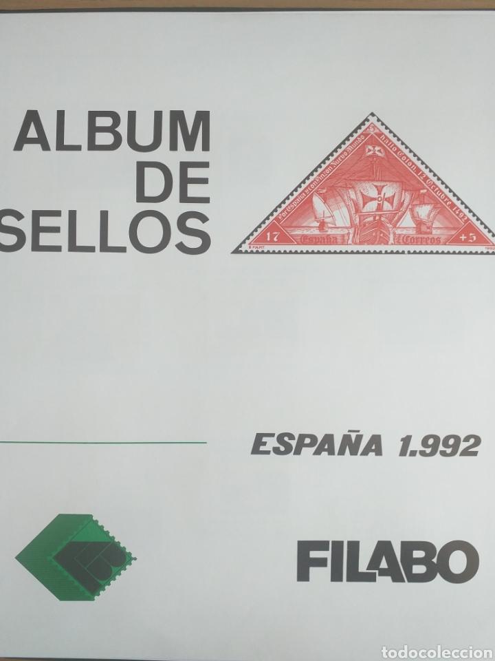SELLOS NUEVOS ESPAÑA AÑO 1992 COMPLETO + POSTALES + AEROGRAMAS (SIN FIJA SELLOS) (Sellos - España - Juan Carlos I - Desde 1.986 a 1.999 - Nuevos)