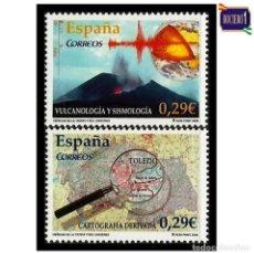 Sellos: ESPAÑA 2006. EDIFIL 4254-55 4255. CIENCIAS DE LA TIERRA Y DEL UNIVERSO. NUEVO** MNH. Lote 194881921