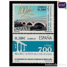 Sellos: ESPAÑA 2006. EDIFIL 4256-57 4257. CENTENARIOS. NUEVO** MNH. Lote 194882218
