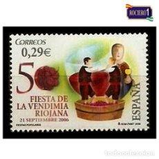 Sellos: ESPAÑA 2006. EDIFIL 4265. FIESTA DE LA VENDIMIA RIOJANA. NUEVO** MNH. Lote 194883213