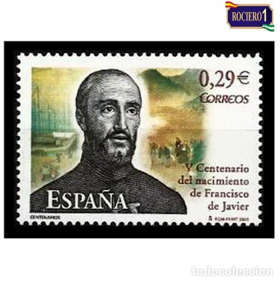 ESPAÑA 2006. EDIFIL 4281. CENTENARIO DEL NACIMIENTO DE SAN FRANCISCO JAVIER. NUEVO** MNH (Sellos - España - Juan Carlos I - Desde 2.000 - Nuevos)