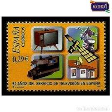 Sellos: ESPAÑA 2006. EDIFIL 4282. ANIVERSARIO DEL SERVICIO DE TELEVISIÓN ESPAÑOLA. NUEVO** MNH. Lote 194885518