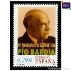 Sellos: ESPAÑA 2006. EDIFIL 4285. ANIVERSARIO MUERTE DE PIO BAROJA. NUEVO** MNH. Lote 194885990