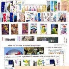 Sellos: ESPAÑA AÑO 2005 COMPLETO CON CARNET Y HB NUEVO SIN CHARNELA MNH**. Lote 194886037