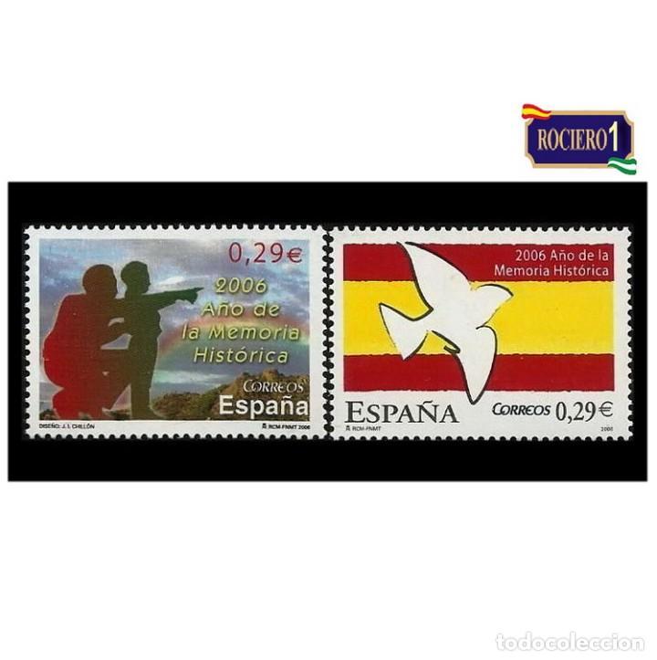 ESPAÑA 2006. EDIFIL 4286-87 4287. AÑO DE LA MEMORIA HISTÓRICA. NUEVO** MNH (Sellos - España - Juan Carlos I - Desde 2.000 - Nuevos)