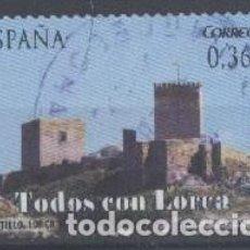 Sellos: ESPAÑA - AÑO 2012 - EDIFIL 4692 - TODOS CON LORCA - USADO. Lote 194886490