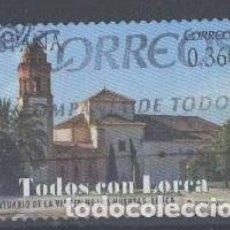 Sellos: ESPAÑA - AÑO 2012 - EDIFIL 4691 - TODOS CON LORCA - USADO. Lote 194886577
