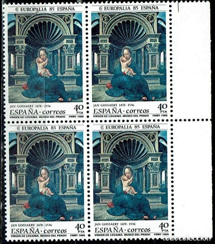 ESPAÑA 1985 - EDIFIL 2779 (**) EN BLOQUE DE 4 (Sellos - España - Juan Carlos I - Desde 1.975 a 1.985 - Nuevos)
