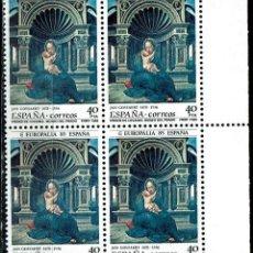 Sellos: ESPAÑA 1985 - EDIFIL 2779 (**) EN BLOQUE DE 4. Lote 194887657