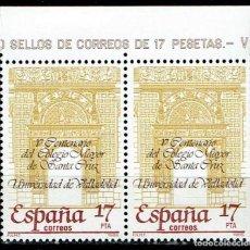 Sellos: ESPAÑA 1985 - EDIFIL 2780 (**) PAREJA. Lote 194888498