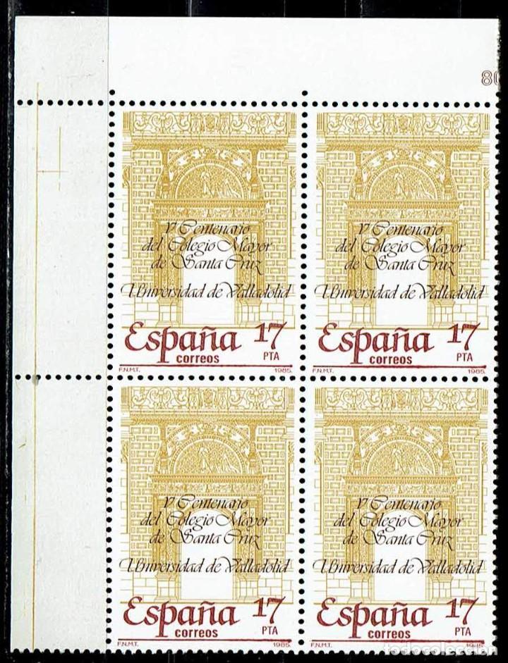 ESPAÑA 1985 - EDIFIL 2780 (**) EN BLOQUE DE 4 (Sellos - España - Juan Carlos I - Desde 1.975 a 1.985 - Nuevos)