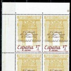 Sellos: ESPAÑA 1985 - EDIFIL 2780 (**) EN BLOQUE DE 4. Lote 194888601