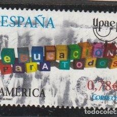 Sellos: ESPAÑA 2007 - EDIFIL NROS. 4353 - UPAEP - USADO -. Lote 194900542