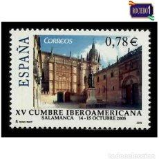 Sellos: ESPAÑA 2005. EDIFIL 4188. XV CUMBRE IBEROAMERICANA. NUEVO** MNH. Lote 194905162