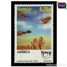 Sellos: ESPAÑA 2005. EDIFIL 4189. AMÉRICA-UPAEP. NUEVO** MNH. Lote 194905192