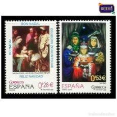 Sellos: ESPAÑA 2005. EDIFIL 4194-95 4195. NAVIDAD. NUEVO** MNH. Lote 194905362