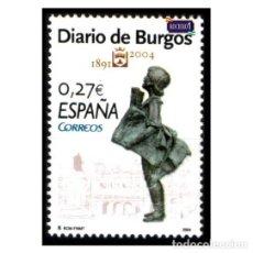 Sellos: ESPAÑA 2004. EDIFIL 4072. DIARIOS CENTENARIOS, DIARIO DE BURGOS. NUEVO** MNH. Lote 194915446