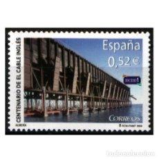 Sellos: ESPAÑA 2004. EDIFIL 4078. CENTENARIO DEL CABLE INGLÉS. NUEVO** MNH. Lote 194916571