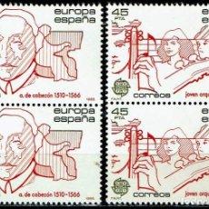 Sellos: ESPAÑA 1985 - EDIFIL 2788/2789 (**) EN PAREJAS. Lote 194917186