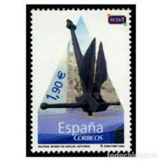 Sellos: ESPAÑA 2004. EDIFIL 4101. MUSEO DE ANCLAS PHILIPPE COUSTEAU. NUEVO** MNH. Lote 194924843