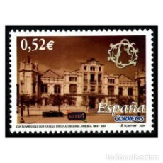 Sellos: ESPAÑA 2004. EDIFIL 4110. CIRCULO OSCENSE, HUESCA. NUEVO** MNH. Lote 194925606