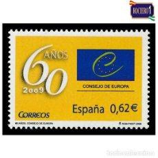 Timbres: ESPAÑA 2009. EDIFIL 4482. CONSEJO DE EUROPA. NUEVO** MNH. Lote 194962088