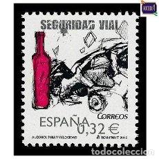 Sellos: ESPAÑA 2009. EDIFIL 4497. SEGURIDAD VIAL. NUEVO** MNH. Lote 194966153
